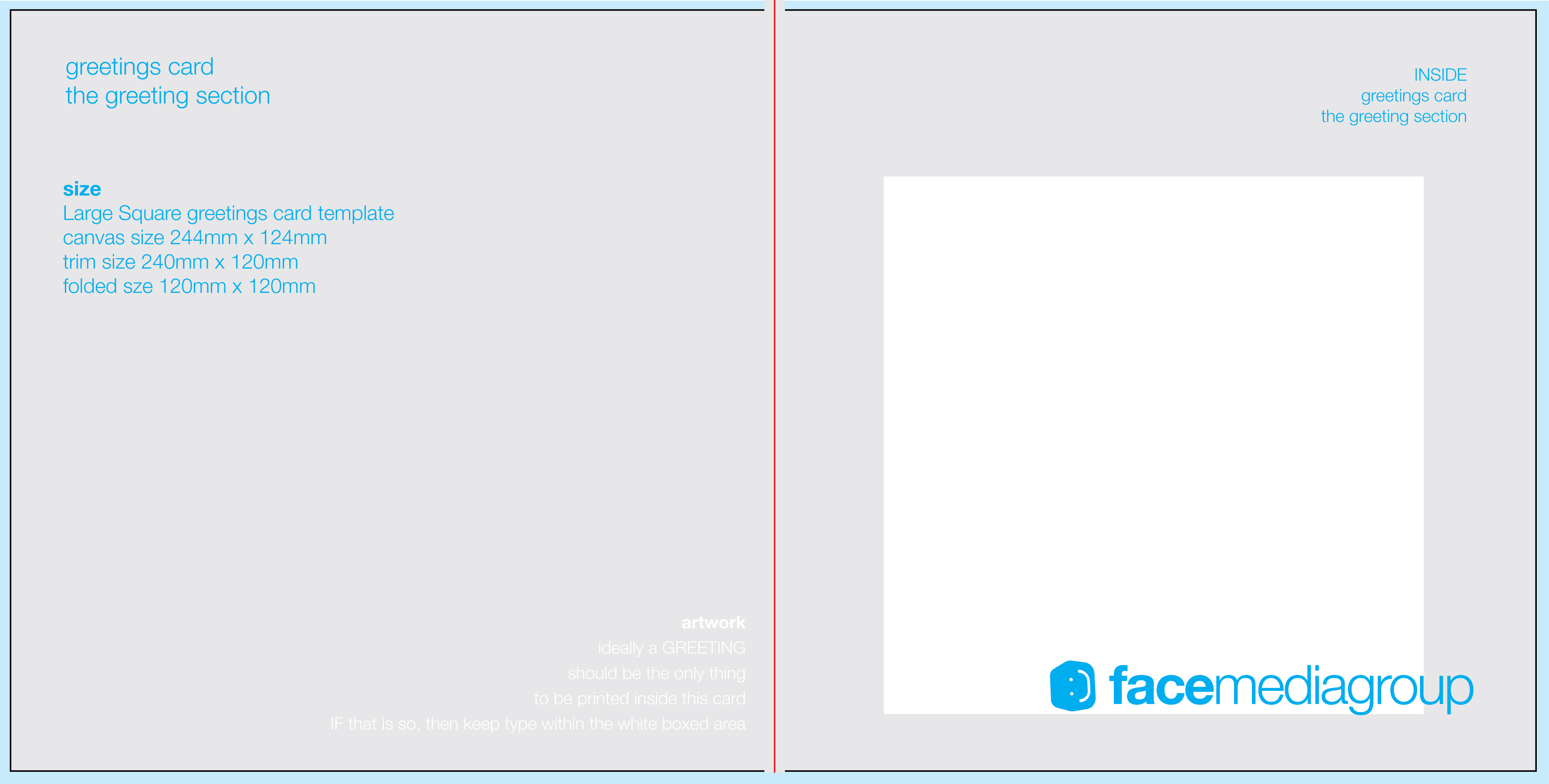 Free Blank Greetings Card Artwork Templates For Download Intended For Greeting Card Layout Templates