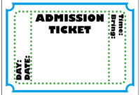 Free Blank Ticket Cliparts, Download Free Clip Art, Free pertaining to Blank Admission Ticket Template