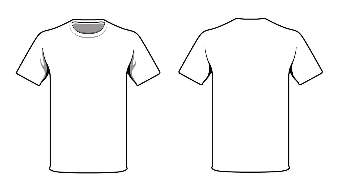 Free Blank Tshirt, Download Free Clip Art, Free Clip Art On With Blank Tshirt Template Pdf