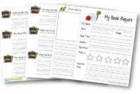 Free Book Report Template | 123 Homeschool 4 Me with regard to Book Report Template Grade 1