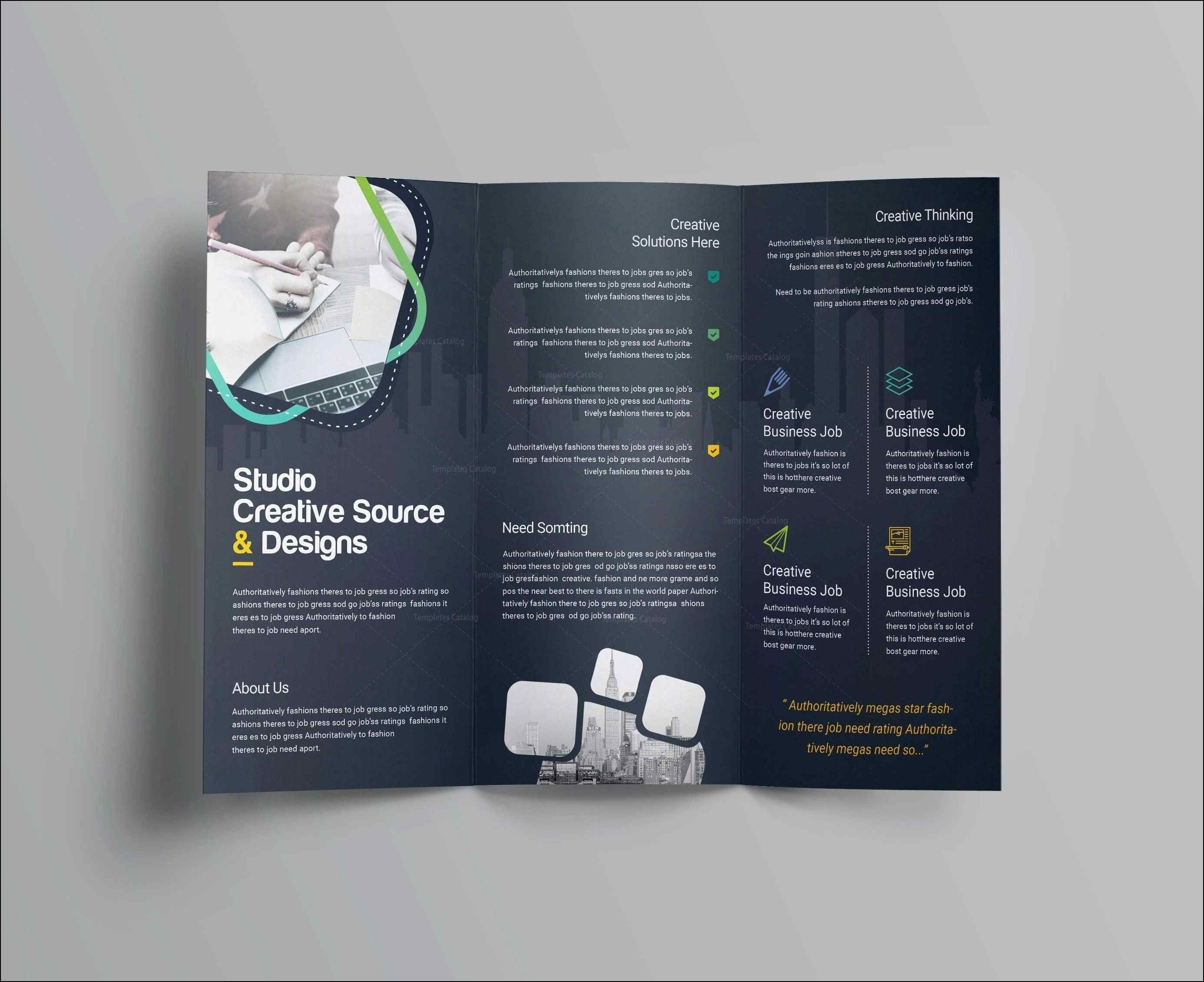 Free Brochure Templates For Word Letter Sample Printable In Free Tri Fold Brochure Templates Microsoft Word