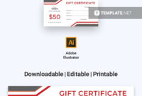 Free Carwash Gift Certificate | Certificate Templates regarding Gift Certificate Template Publisher