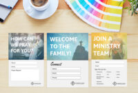 Free Church Connection Cards – Beautiful Psd Templates Within Decision Card Template