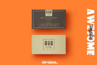 Free Coffee Business Card Template – Creativetacos for Coffee Business Card Template Free