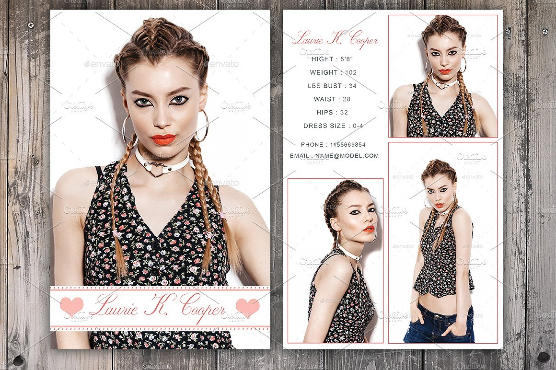 Free Comp Card Template Brochure Templates Microsoft Word With Regard To Comp Card Template Download