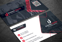 Free Corporate Business Card Photoshop Template pertaining to Free Bussiness Card Template