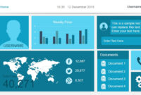 Free Dashboard Templates – for Powerpoint Dashboard Template Free