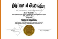 Free Diploma Templates Printable Certificates Pre Sample Of pertaining to School Certificate Templates Free