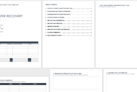 Free Disaster Recovery Plan Templates | Smartsheet within Dr Test Report Template