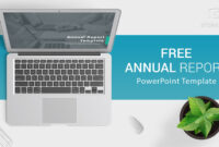 Free Download Annual Report Powerpoint Template For intended for Annual Report Ppt Template