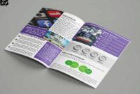 Free Download Bi-Fold Social Media Company Brochure Template throughout Social Media Brochure Template