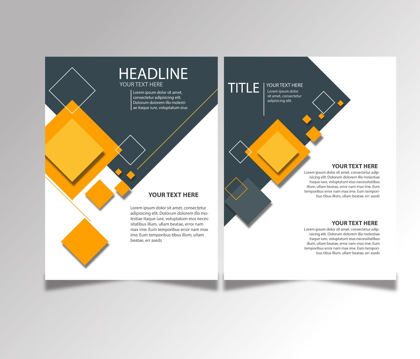 Free Download Brochure Design Templates Ai Files - Ideosprocess Throughout Brochure Template Illustrator Free Download