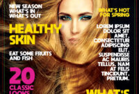 Free Download] Magazine Template Psd   Freedownloadpsd within Blank Magazine Template Psd