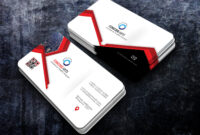 Free Download Professional And Creative Red Business Cards within Professional Business Card Templates Free Download