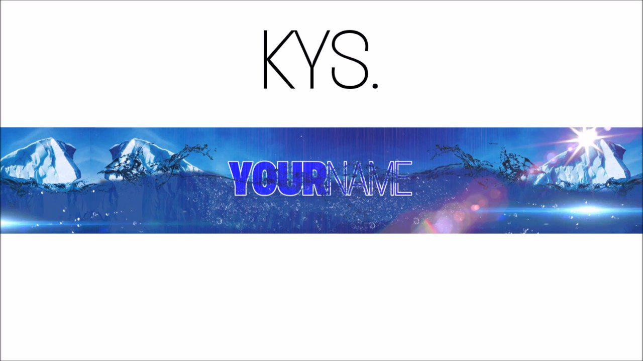 Free, Epic Youtube Banner/channel Art Template – [Gimp] + Download Intended For Youtube Banner Template Gimp