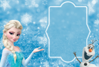 Free Frozen Party Invitation Template Download + Party Ideas with Frozen Birthday Card Template