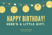 Free Gift Certificate Templates You Can Customize intended for Free Travel Gift Certificate Template