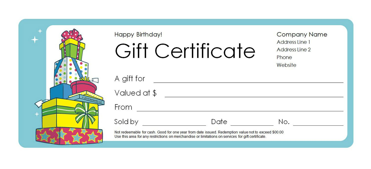 Free Gift Certificate Templates You Can Customize Regarding Printable Gift Certificates Templates Free