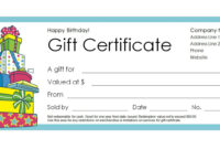 Free Gift Certificate Templates You Can Customize within Kids Gift Certificate Template