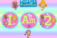 Free Invitations Template Bubble Guppies Invitations within Bubble Guppies Birthday Banner Template
