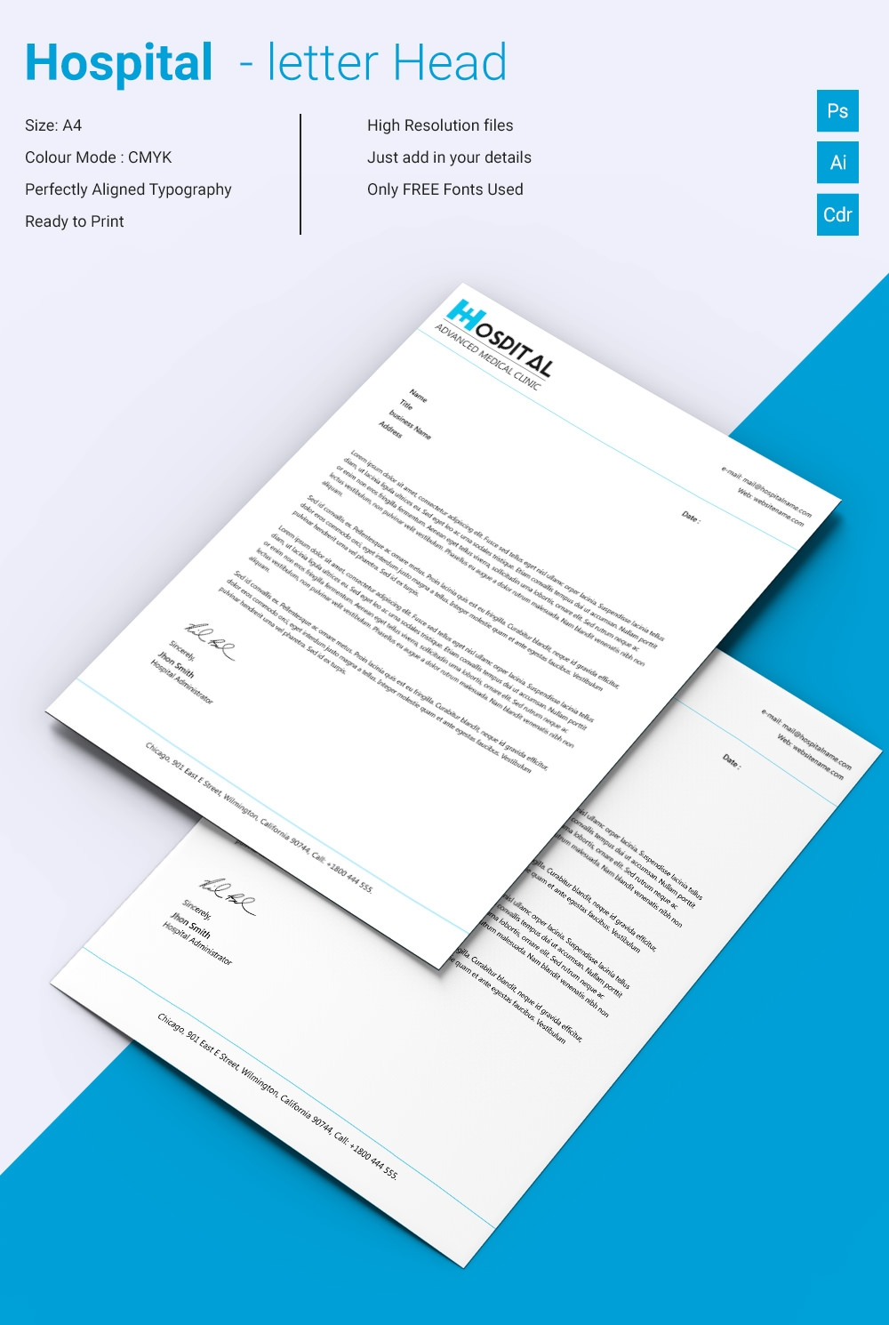 Free Letterhead Template – 22+ Free Word, Pdf Format Inside Free Letterhead Templates For Microsoft Word