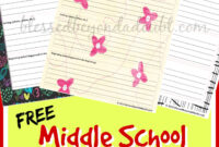 Free Middle School Printable Book Report Form! | Middle for Book Report Template Middle School