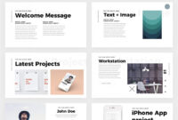 Free Minimal Powerpoint Template – Create Your Ppt Easy! inside Biography Powerpoint Template