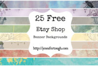Free Online Stores Like Etsy | La Confédération Nationale Du for Etsy Banner Template