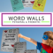 Free Personal Word Walls: Student Made Thematic Word Walls In Personal Word Wall Template