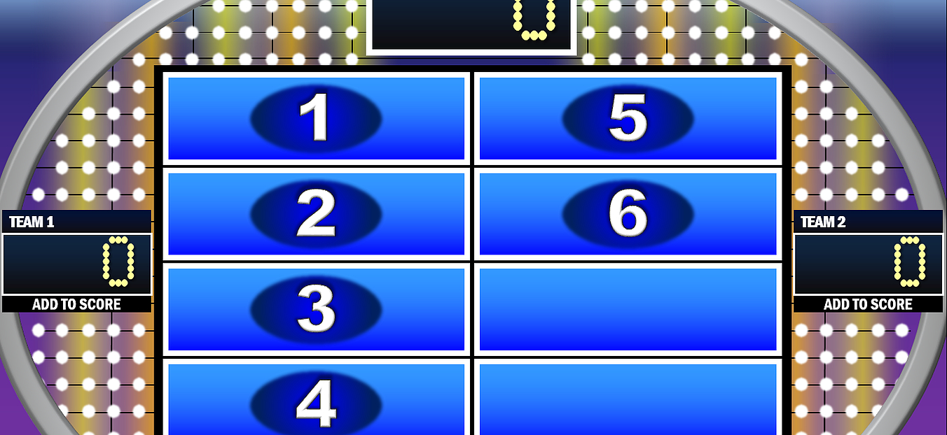 Free Powerpoint Games: Jeopardy, Family Feud, Wheel Of For Family Feud Game Template Powerpoint Free