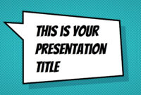Free Powerpoint Template Or Google Slides Theme With for Comic Powerpoint Template