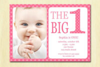 Free-Printable-1St-Birthday-Invitation-Template | Birthday with regard to First Birthday Invitation Card Template