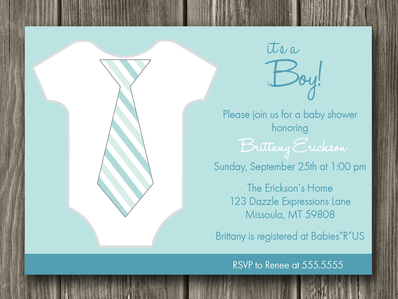 Free Printable Baby Shower Invitation — Metal Decorations Throughout Free Baby Shower Invitation Templates Microsoft Word