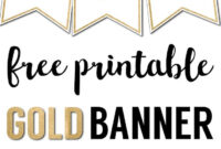 Free Printable Banner Letters Templates | Free Printable pertaining to Letter Templates For Banners