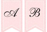 Free Printable Bridal Shower Banner | Vow Renewal | Bridal inside Diy Baby Shower Banner Template