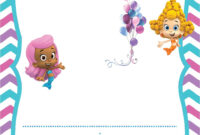 Free Printable Bubble Guppies Invitation Template | Free throughout Bubble Guppies Birthday Banner Template