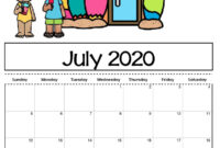Free Printable Calendar Templates 2020 For Kids In Home within Blank Calendar Template For Kids