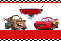 Free Printable Disney Cars Birthday Party Invitations Disney intended for Cars Birthday Banner Template