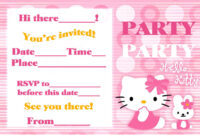 Free Printable Hello Kitty Birthday Card | Mult-Igry pertaining to Hello Kitty Birthday Banner Template Free