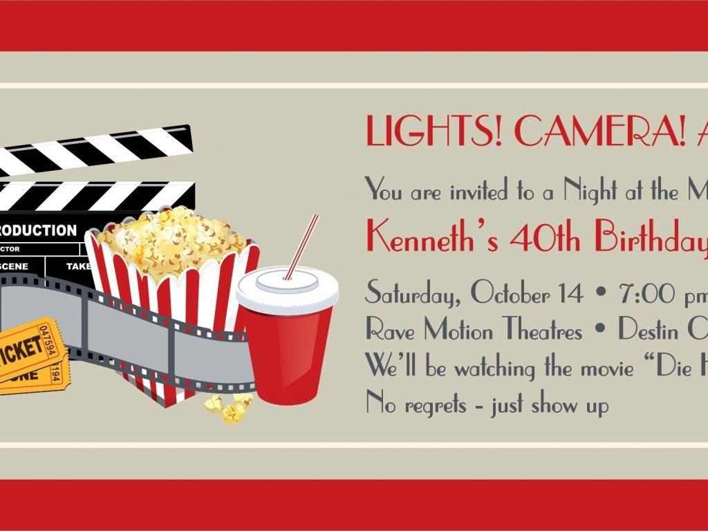 Free Printable Movie Tickets Template Ticket Invitation Regarding Movie Gift Certificate Template