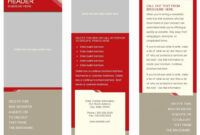 Free Printable Pamphlet Template And 6 Panel Brochure Pertaining To 6 Panel Brochure Template