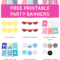 Free Printable Party Banners From @chicfetti | Free for Free Printable Party Banner Templates