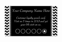 Free Printable Punch Card Template   Mult-Igry intended for Business Punch Card Template Free
