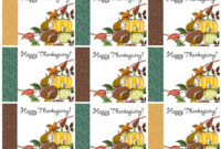 Free Printable Thanksgiving Place Cards — Also Great For Regarding Thanksgiving Place Card Templates