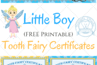 Free Printable Tooth Fairy Certificates | Parenting | Tooth inside Tooth Fairy Certificate Template Free