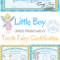 Free Printable Tooth Fairy Certificates   Parenting   Tooth Regarding Free Tooth Fairy Certificate Template