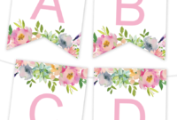 Free Printables | Birthday Banner | Free Printable Banner throughout Diy Party Banner Template