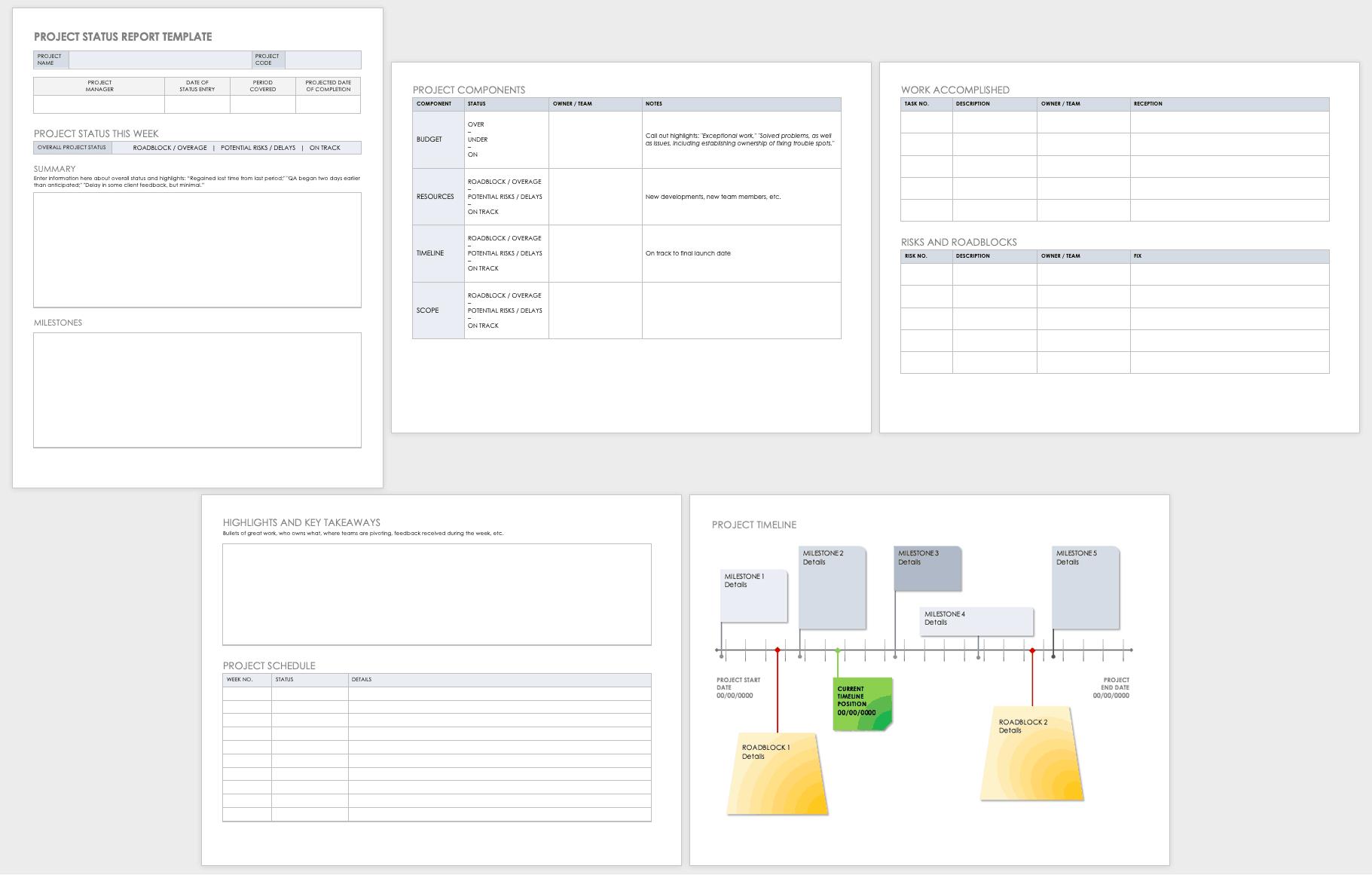 Free Project Plan Templates For Word   Smartsheet Regarding Work Plan Template Word