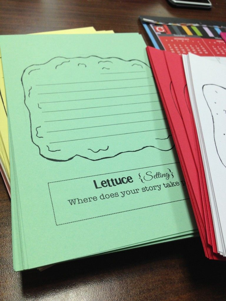 Free Sandwich Book Report Shape Printables. It Has The Bread With Regard To Sandwich Book Report Printable Template