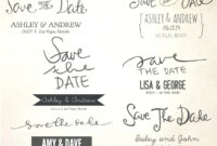 Free Save The Date Templates For Word Prettier – Wovensheet.co with Save The Date Templates Word